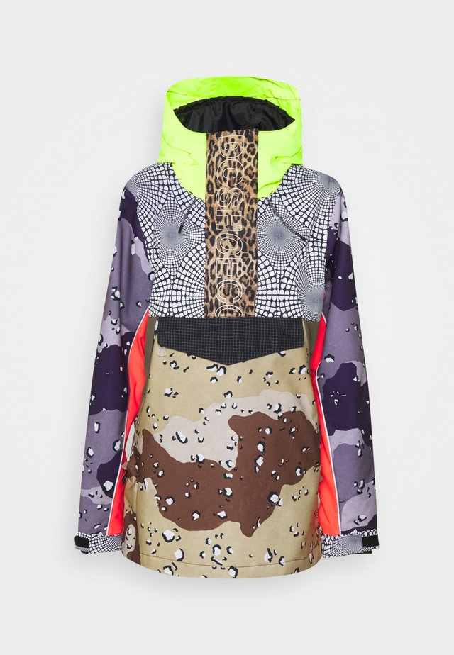 ENVY ANORAK  - Snowboard jacket - repurpse multi camo/ opticool