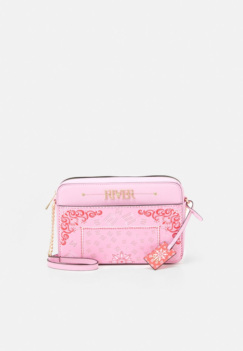 River Island - Across body bag - pink bright