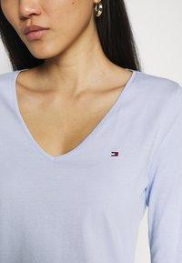 Tommy Hilfiger - REGULAR CLASSIC - Long sleeved top - breezy blue - 4