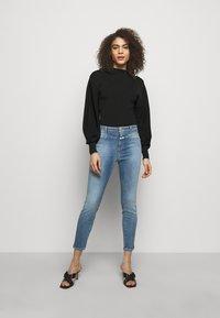 CLOSED - PUSHER - Skinny džíny - mid blue - 1