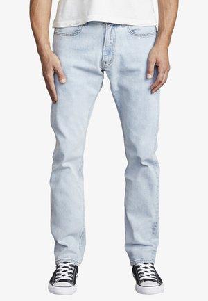 Straight leg jeans - bleach party