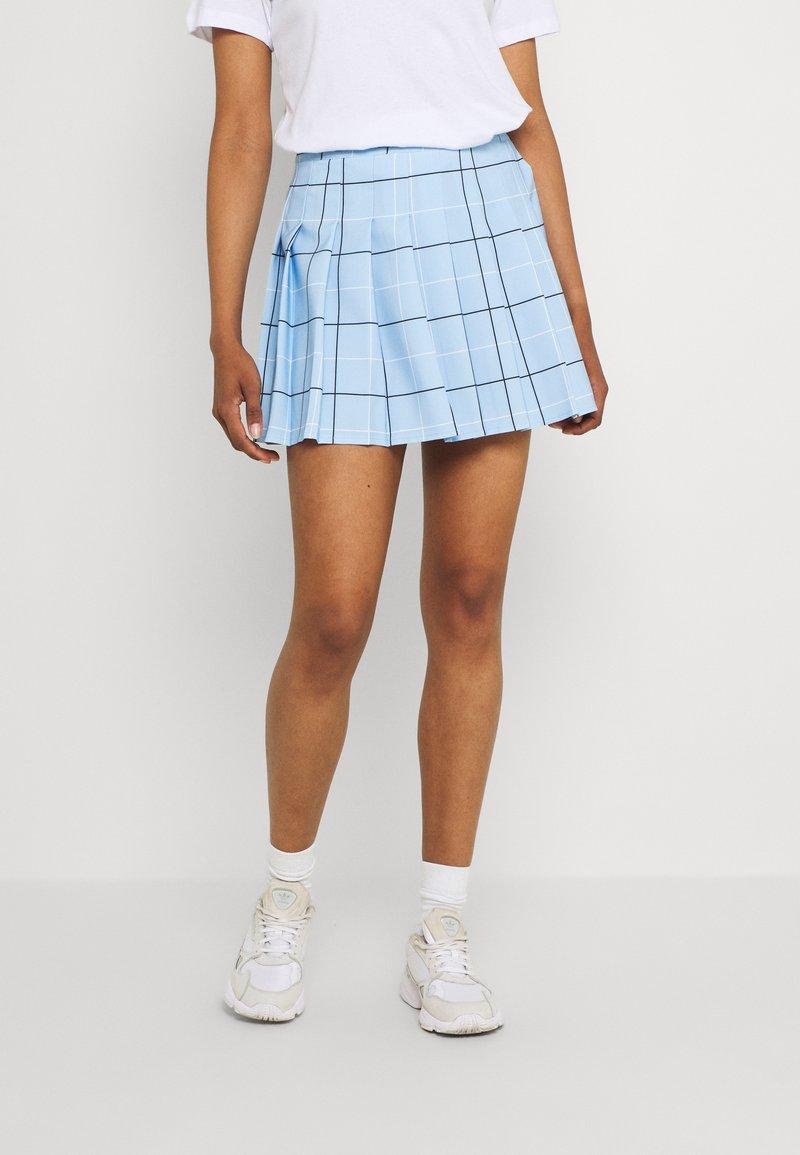 WAL G. - GEMMA SKIRT - Mini skirt - powder blue