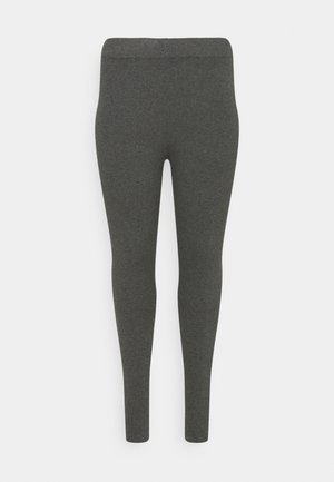 Leggings - Trousers - mottled dark grey