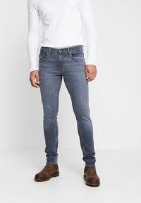 Tiger of Sweden Jeans - SLIM - Jeans Skinny Fit - grey denim - 0