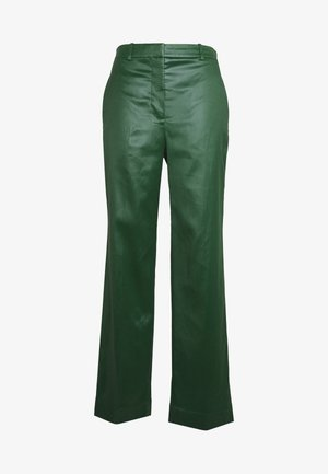 FULL LEG TROUSER - Pantalones - vetiver green