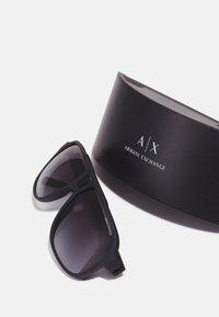 Armani Exchange - Sunglasses - matte black - 2