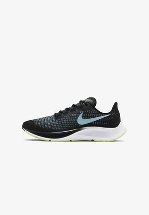 AIR ZOOM PEGASUS 37 - Neutral running shoes - black/barely volt/white/glacier ice