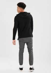 Zign - Cardigan - solid black - 2