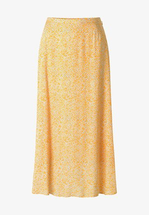 A-line skirt - yellow aster