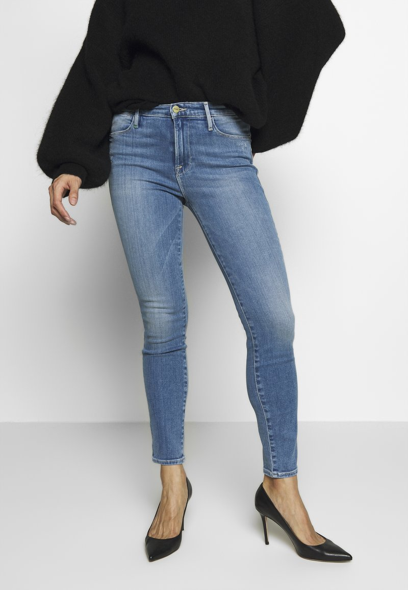 Frame Denim - LE HIGH SKINNY - Jeans Skinny Fit - blue denim