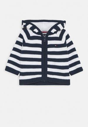 BABY STRIPE CARDIGAN - Chaqueta de punto - blue