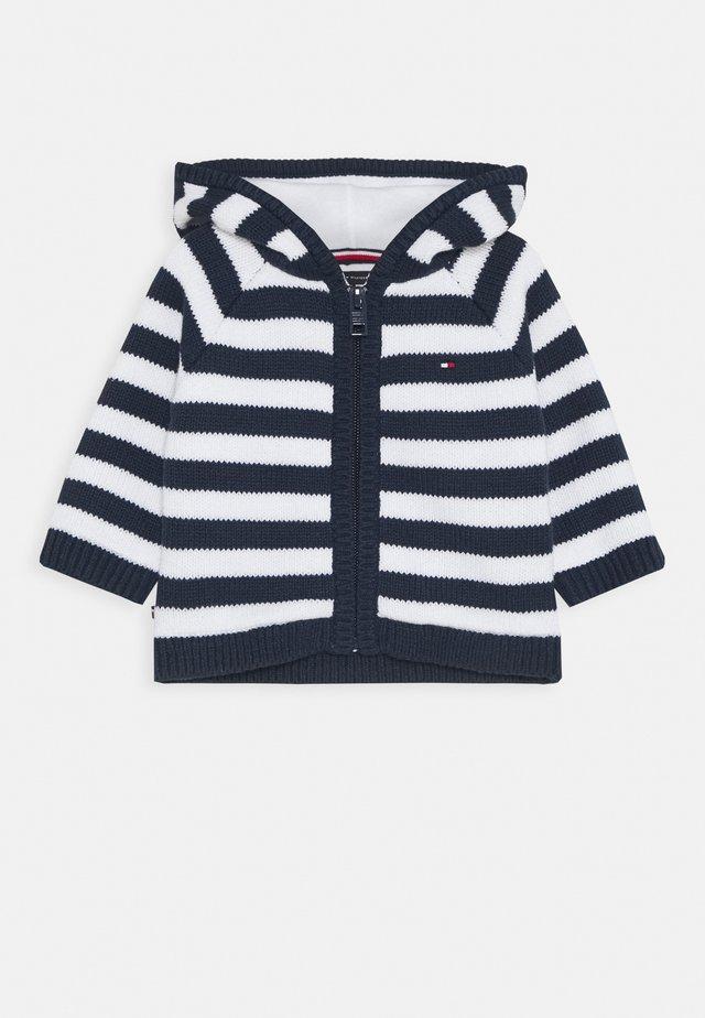 BABY STRIPE CARDIGAN - Gilet - blue