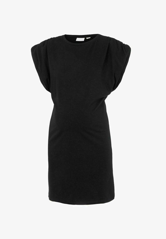 MLWANDA - Korte jurk - black
