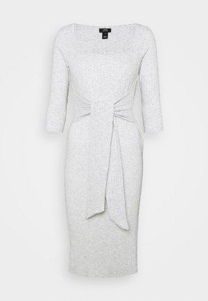 Kjole - grey marl