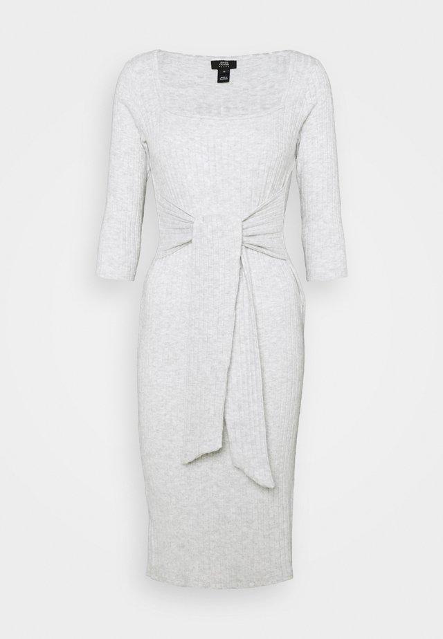 Day dress - grey marl