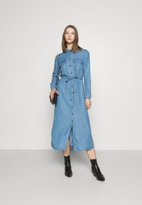 ONLY - ONLCASI LIFE  - Denim dress - medium blue - 1
