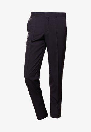 GRIFFIN - Oblekové kalhoty - black