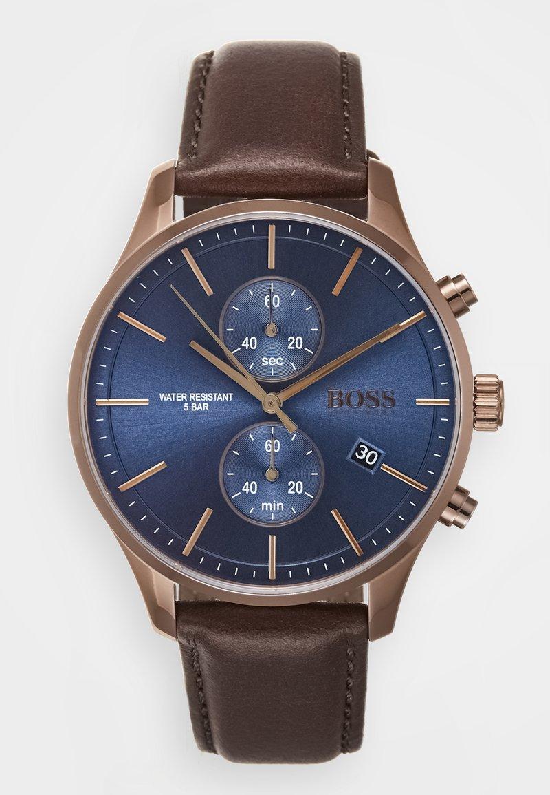 BOSS - ASSOCIATE - Chronograph watch - braun