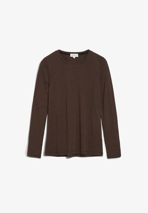 LARENAA - Long sleeved top - black-cacao