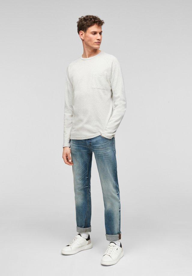 Longsleeve - white melange