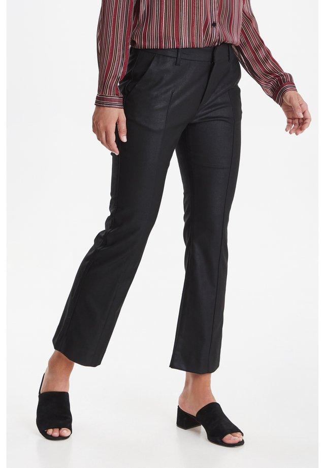 PZCATTY  - Spodnie materiałowe - black beauty