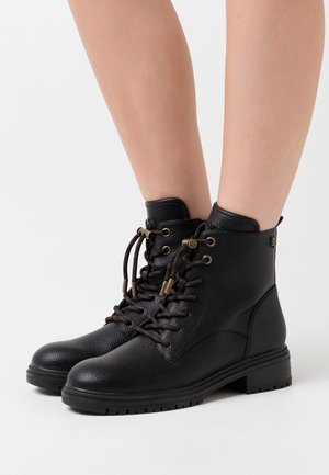 FELICITY - Bottines à lacets - black