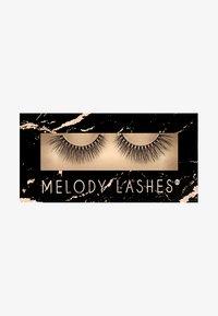 Melody Lashes - SASSY - False eyelashes - black - 0