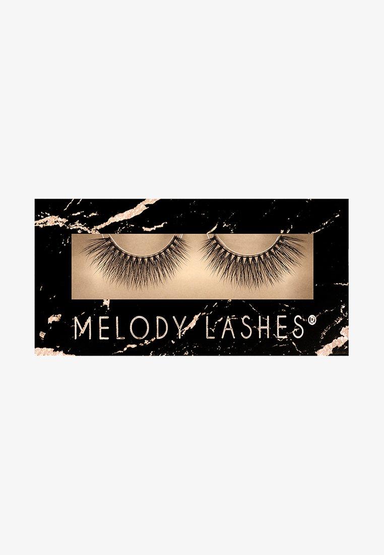 Melody Lashes - SASSY - False eyelashes - black
