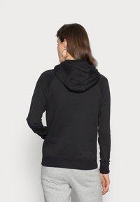 Nike Sportswear - HOODIE - Hoodie - black/white - 2