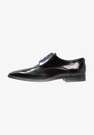 VALMI - Smart lace-ups - noir