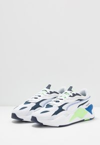 Puma - RS-X³ MILLENIUM UNISEX - Matalavartiset tennarit - white/peacoat - 2