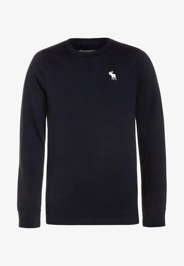 BASIC CREW - Bluzka z długim rękawem - navy