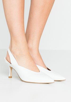 AVIANNA - Classic heels - white