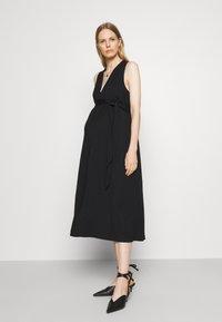 IVY & OAK Maternity - DOREEN - Maxi dress - black - 0