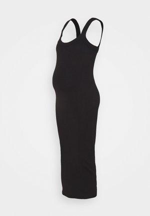 SCOOP NECK CAMI - Jerseykjole - black