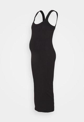 SCOOP NECK CAMI - Jersey dress - black