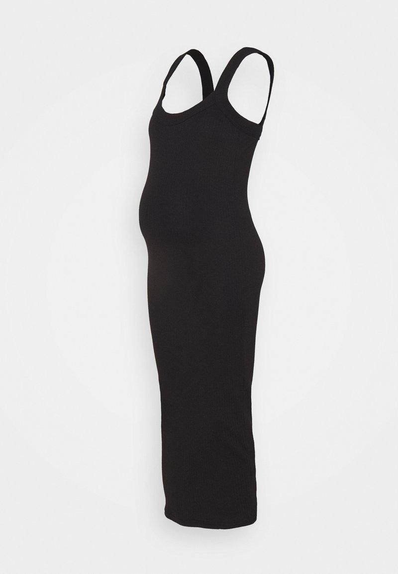 Missguided Maternity - SCOOP NECK CAMI - Žerzejové šaty - black
