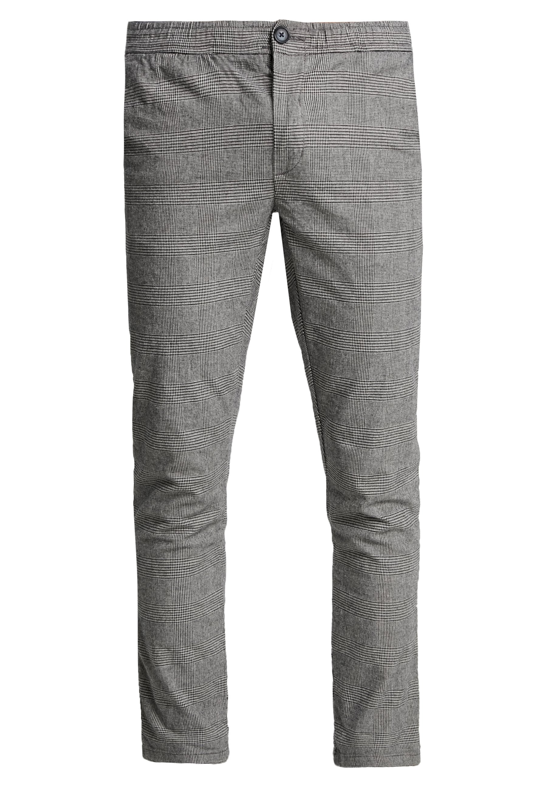 Redefined Rebel King Pants - Bukse Grey Check/grå