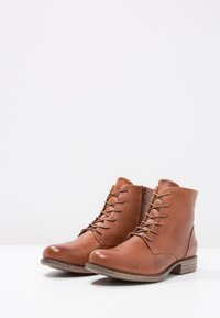 Pier One - Lace-up ankle boots - brandy - 3