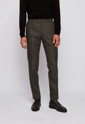 Suit trousers - open green