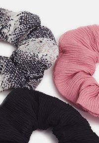 Even&Odd - 3 PACK - Accessori capelli - black/pink - 1