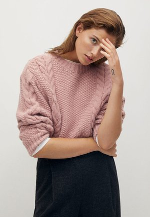 HOME - Pullover - pink