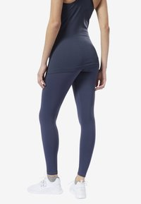 Reebok - YOGA LUX 2.0 MATERNITY TIGHTS - Tights - blue - 2