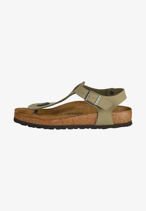 KAIRO - T-bar sandals - khaki