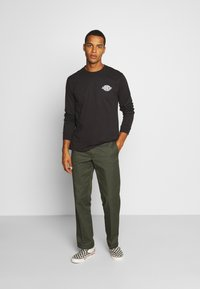 Dickies - WARPED - Long sleeved top - black - 1