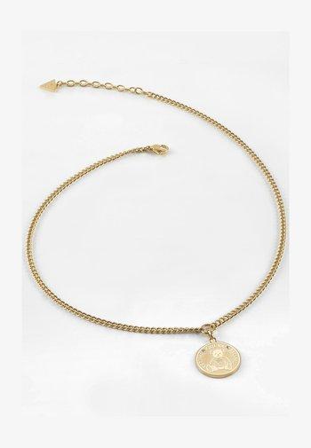 """""""VINTAGE BEAR"""" - Necklace - goldenfarbe"""