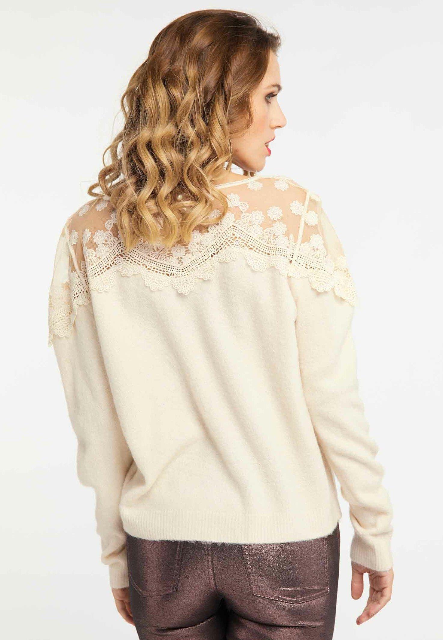 Outlet Women's Clothing faina Jumper beige 30FQMGD2j