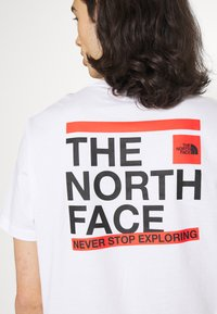 The North Face - SLICE TEE - T-shirt med print - white - 3