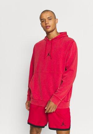 AIR HOODIE - Ikdienas džemperis - gym red/black