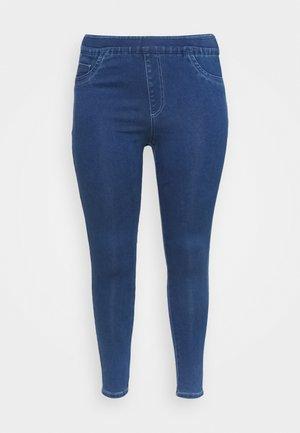 SCULPTING SKINNY JEGGINGS - Skinny džíny - mid blue